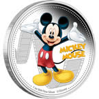 Disney Mickey & Friends – Mickey Mouse 2014 1oz Silver Proof Coin
