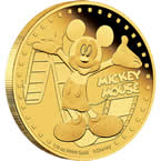 Disney Mickey & Friends – Mickey Mouse 2014 1/4oz Gold Proof Coin