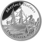 Famous Ships That Never Sailed – Gloria Scott 2014 1oz Silver Proof Coin