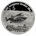 Famous Ships that Never Sailed - Nautilus 2015 1oz Silver Proof Coin