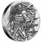 Gods of Olympus - Zeus 2 oz Silver High Relief Coin