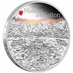 Making of a Nation 2015 1oz Silver Proof Coin