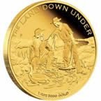 Gold Rush 2014 1/4 oz Gold Proof Coin