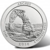 2014-P Arches National Park 5 Oz Silver Coins Top 21K in Sales Debut