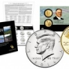 2014 Anniversary Kennedy Set, Gold Coins and Quarters Set in July