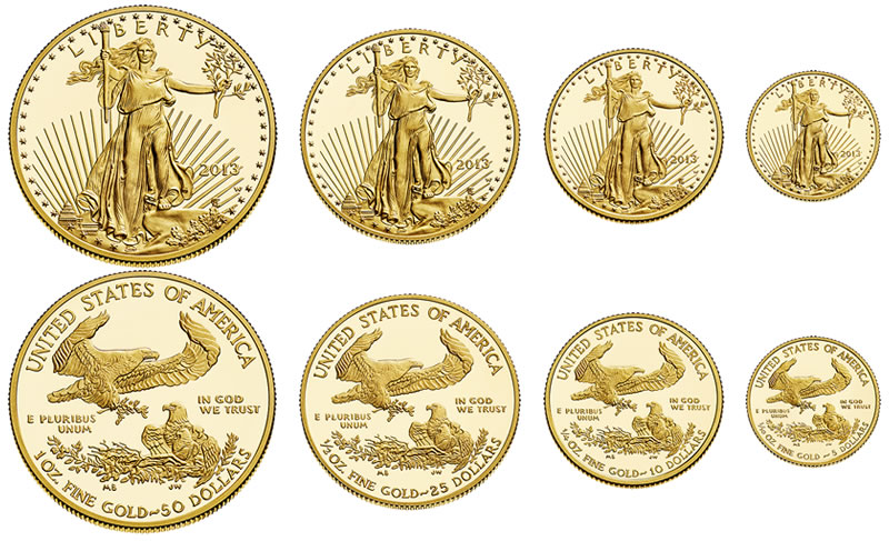 2017 W Proof American Gold Eagles 1