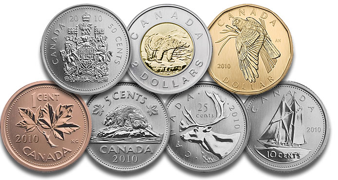 What Are Canadian Coins Called Currency Exchange Rates