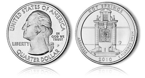 2010 D American The Beautiful National Park Quarter Coins Money U.S Mint Roll