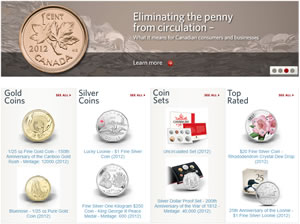 Click to Visit Royal Canadian Mint Website