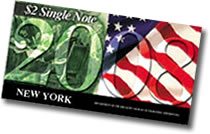 2008 $2 Single Note (New York)