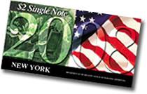2008 $2 Single Note (New York)
