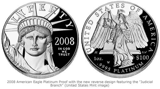 2008 Platinum Proof Coin