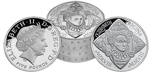 The 2008 UK Silver Proof Piedfort Four-Coin Collection