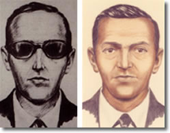 D.B. Cooper FBI Sketches