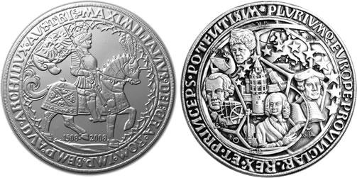 Europe Taler 2008 silver coin