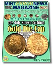 Error Coins Galore in Mint Error News Magazine, Issue #22