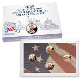 2009 Lincoln Bicentennial One Cent Proof Set
