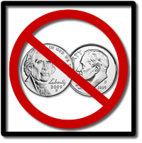 US Mint Halts 2009 Nickels and Dimes Production