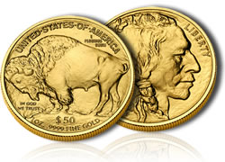 Gold Buffalo Bullion Coin