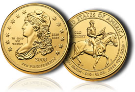 Jackson's Liberty First Spouse Gold Uncirculated Coin