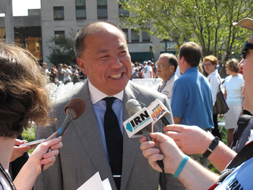 US Mint Director Edmund Moy