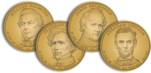2010 Presidential Dollar Design Images