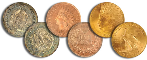 Bowers and Merena and Teletrade Auctioned Rare Coins