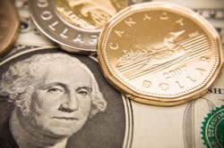 The loonie started the year at 87 cents US and hit a peak on November at $1.10. Most notable for the loonie, however, was Sept. 20, 2007 when it struck parity with the US dollar for the first time in nearly 31 years.