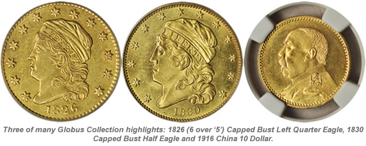 Globus Collection Coin Highlights