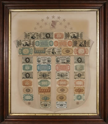 Fr. 1383 Fractional Currency Shield