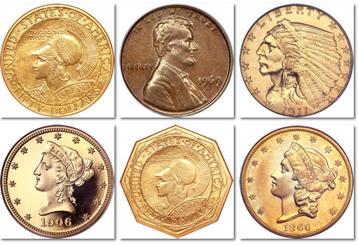 Heritage ANA National Money Show Coin Auction Eamples