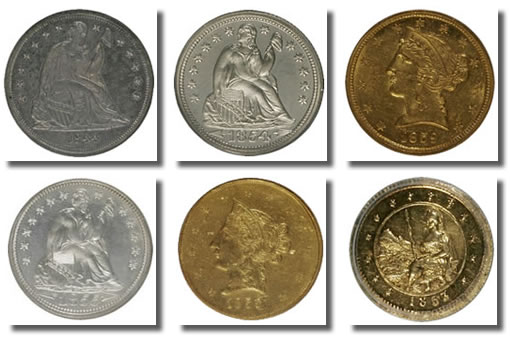 Heritage auctioned rare coins