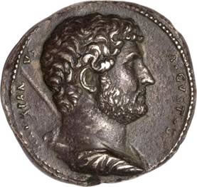 ROMAN EMPIRE. Hadrian, A.D. 117-138. AR Medallion