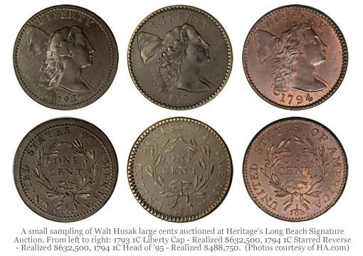 Walt Husak U.S. Large Cents