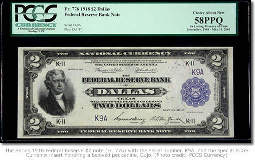 Series 1918 Federal Reserve $2 note (Fr. 776)