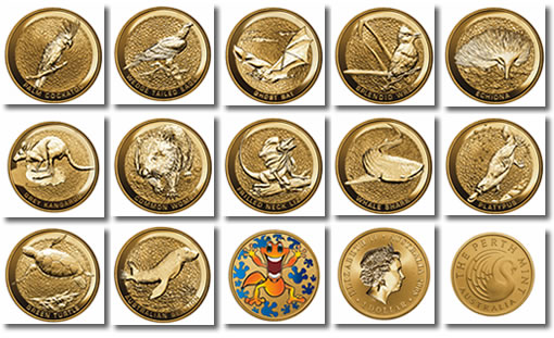 Australian Young Collector Coins from The Perth Mint