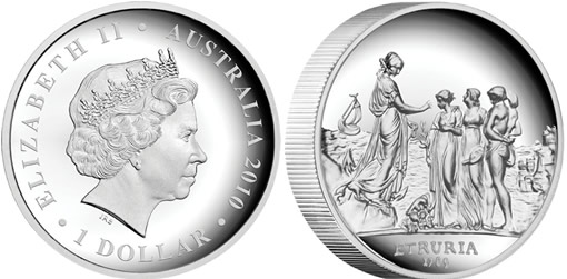 Sydney Cove Medallion High Relief Silver Proof Coin