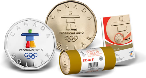 2010 Lucky Loonie Circulation Coins