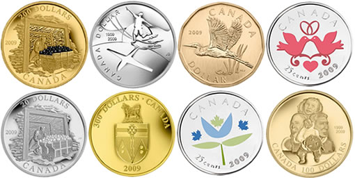 Royal Canadian Mint's First Collector Coins of 2009