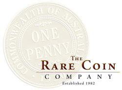The Rare Coin Company Logo