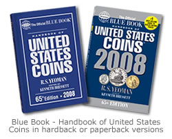The Blue Book, a handbook of US coins