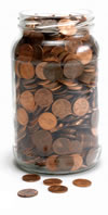 A Jar of Pennies