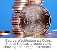Washington Presidential $1 Coin