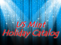 The United States Mint is releasing their latest coin and product catalog for the gift and holiday season