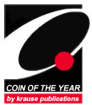 Coin of the Year award, sponsored by World Coin News