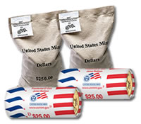 The final Presidential $1 coin for the year is now hitting general circulation through banks and other financial institutions. However, you can buy these coin rolls and bags directly from the U.S. Mint.