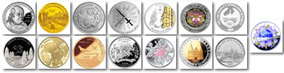 Here are the coins that have been nominated. Check out the NumisMaster website for the larger images and to vote
