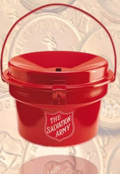 There were reported accounts of over 30 gold coins donated in Salvation Army kettles.