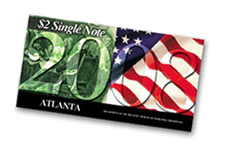 The Bureau of Engraving and Printing (BEP) has announced the 2008 $2 Single Note is available for sale.