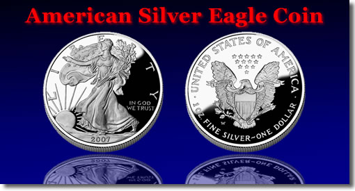The American Eagle Silver Coin History Design Prices